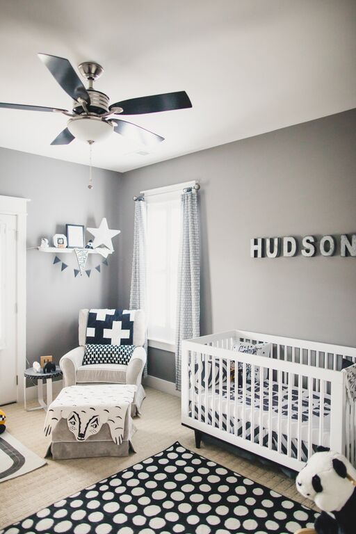 Navy Baby Bedding And Nursery Design